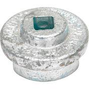 """Vestil Drum Bung Socket BUNG-S-S2 - Zinc Plated Cast Steel - 1/2"""" Drive Size"""