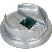 """Vestil Drum Bung Socket BUNG-S - Zinc-Plated Cast Steel - 3/4"""" Drive Size"""