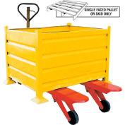 Vestil Big Wheel Bulk Container Pallet Jack Truck BW-PJ