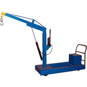 Counter Balanced Floor Crane CBFC-1000 1000 Lb. Capacity