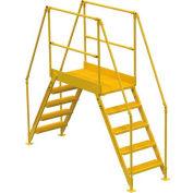 "5 Step Cross Over Ladder - 103-1/2""L"