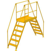 "6 Step Cross-Over Ladder - 104""L"