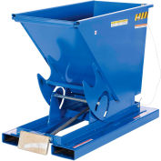 Vestil 1/3 Cu. Yd. Self-Dumping Steel Hopper with Bump Release D-33-HD 6000 Lb.