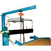 Vestil Floor Mounted Jib Crane JIB-FM-6 600 Lb. Capacity