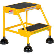 Commercial Rolling Ladder - LAD-2-Y