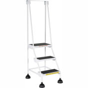 Commercial Rolling Ladder - LAD-3-W