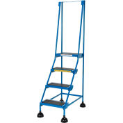 Commercial Rolling Ladder - LAD-4-B