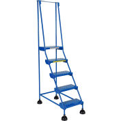 Commercial Rolling Ladder - Perforated - LAD-5-B-P