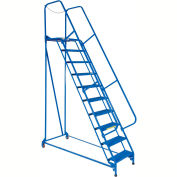 Maintenance Ladder - 10 Step Perforated - LAD-MM-10-P