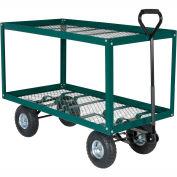 Vestil 2 Shelf Nursery Landscaping Cart LSC-2448-SC