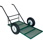 Vestil Low-Profile Tilt Nursery Landscape Cart LSC-2448-TC