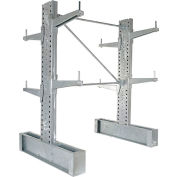 "Vestil - Cantilever Rack MD Double Sided Unit, 6'H x 24"" Arms, 11,000 lb Cap. Galvanized"