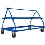 Vestil MSW-72-3 Shrink Wrap Roll Cart, 3 Roll Capacity
