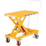 "Vestil Self-Elevating Lift Cart SCSC-400-2032 - 20""W x 32""L Platform"