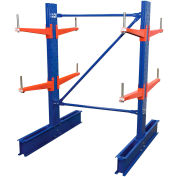 "Vestil - Cantilever Rack SD Double Sided Unit, 6'H x 24"" Arms, 7,700 lb Cap. Baked Enamel"