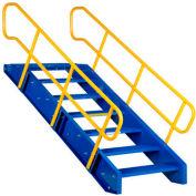 "Vestil, STAIR-108, Modular Style Stairway, 108""H"