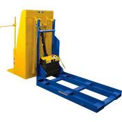 DC Powered Forklift Trash Can Dumper - 400 Lb. Capacity