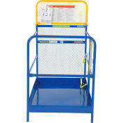 "Work Platform - Single Side Door Entry - 36""W x 48""L"