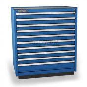 Versatility Turret Tooling Cabinet, w/Forklift Base, 10 Drawers
