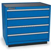 Versatility Press Brake Tooling Cabinet w/Frklft Bs, Wila NS/Wilson WT/Trumpf Style, 4 Drw, 1600 Cap
