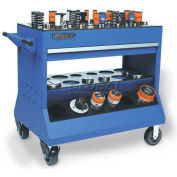 Versatility Turret Press Change Over Cart For Thick Turret Tooling, 1 Drawer