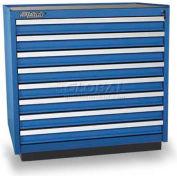 Versatility Heavy Duty Modular Drawer Cabinet w/Forklift Base & Vinyl Worktop, Standard 8 Drawers