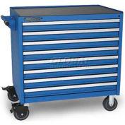 Versatility Heavy Duty Modular Drawer Cabinet w/Mobile Base & Vinyl Worktop, Standard 8 Drawers