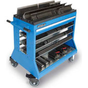 Versatility Press Brake Change Over Cart Tooling Cabinet, European Style, 1 Drawer