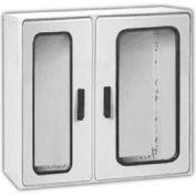"Vynckier PSG4040/2A POLYSAFE 40"" X 40"" Non-Metallic Enclosure, 2 Gasket Window Doors"