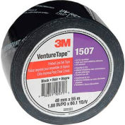 3M VentureTape 1507PRTD-Q130 UV Resistant Line Set Tape 2 IN x 60 Yards Black
