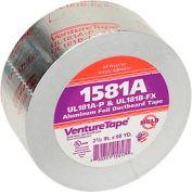 3M VentureTape Foil Tape, 2-1/2 IN x 60 Yards, 1581A-G075