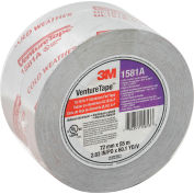 3M™ VentureTape UL181A-P Foil Tape, 3 IN x 60 Yards, 1581-G076