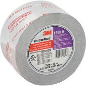 3M VentureTape UL181A-P Foil Tape, 3 IN x 60 Yards, 1581-G076