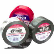 3M VentureTape FlexDuct Closure Tape, 2 IN x 120 Yards, Black, 1599B-G512