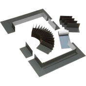 "VELUX Curb Step Flashing Skylight ECL34340000C, Aluminum, 6""L X 51-1/4""H X 16-1/2""D"