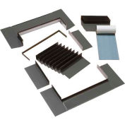 "VELUX Step Flashing Skylight EDLC120000B, Aluminum, 5-1/4""L X 35""H X 15-3/4""D"