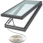 "VELUX Venting Curb Mount Skylight VCM46462008, Inside Curb, Laminated 49-1/2""W X 49-1/2""H,"