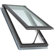 "VELUX Venting Deck Mount Skylight VSM060005, Temp. Glass/Wood Interior, 30-1/16""W X 45-3/4""H"