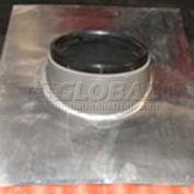 """VELUX Tile Flashing Kit For 22"""" Sun Tunnel ZTG0220000, Alum, 7""""L X 37""""H X 32""""D"""