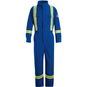 Nomex® IIIA FR Premium Coverall W/ Reflective Trim CNBT, Royal Blue, 6 oz., Size 42 Regular