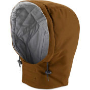 EXCEL FR® ComforTouch® Flame Resistant Universal Fit Snap-On Hood HLH2, Brown Duck, Size M