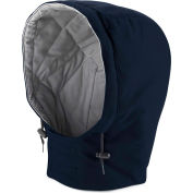 EXCEL FR® ComforTouch® Flame Resistant Universal Fit Snap-On Hood HLH2, Navy, Size M