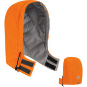 EXCEL FR® ComforTouch® Flame Resistant Universal Fit Snap-On Hood HLH2, Orange, Size M