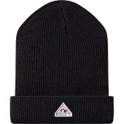 Flame Resistant Modacrylic Knit Cap HMC2, Black, Size M