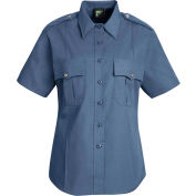 Horace Small™ Deputy Deluxe Women's Short Sleeve Shirt French Blue L - HS12