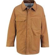 EXCEL FR® ComforTouch® FR Lineman's Coat JLC4BD, Brown Duck, Size XL Regular