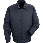 Red Kap® Slash Pocket Jacket Extra Long-XL Navy JT22