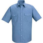 Red Kap® Men's Short Sleeve Deluxe Western Style Shirt S SC24-SC24LBSSS
