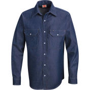 Red Kap® Men's Deluxe Denim Shirt Regular-L SD78-SD78DNRGL