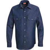Red Kap® Men's Deluxe Denim Shirt Regular-L SD78-SD78DNRGL
